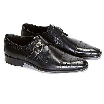 TUGANT SINGLE STRAP MONK SHOES