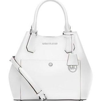 Michael Michael Kors Large Greenwich Saffiano Grab Bag Tote