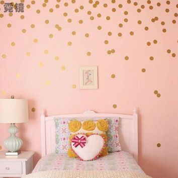 Modern Polka Dots Remove Wall Sticker Vinyl Wall Art DIY Cartoon Home Decor For Children Kid Living Room Bedroom XHH8111