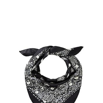 Marc Jacobs Studded Paisley Bandana - Marc Jacobs