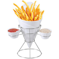 Starfrit Gourmet French Fry & Dip Serving Dish