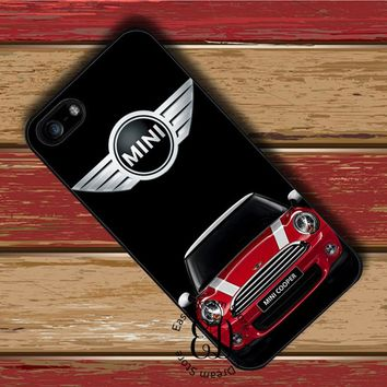 mini cooper coupe red cover case for iphone X 4s 5s SE 5c 6 6s 7 8 Plus Samsung s3 s4 s5 mini s6 s7 s8 edge plus Note 3 4 8