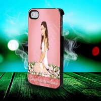Ariana Grande's 'Yours Truly' - for iPhone 4/4s, iPhone 5/5S/5C, Samsung S3 i9300, Samsung S4 i9500 Hard Case *subahanalloh*