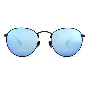 Sicky Eyewear - Colony | Black w/Blue Lens