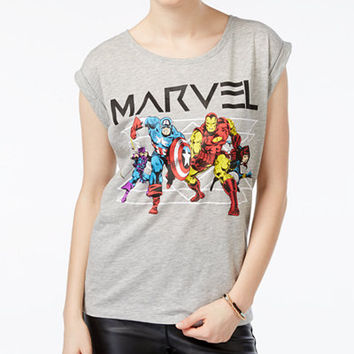 Marvel Juniors' Civil War Graphic T-Shirt - Juniors Tops - Macy's