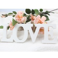 LOVE Wooden Letters Sign for Wedding Decoration
