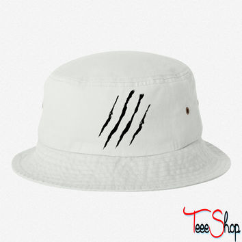 clawmark claw mark bucket hat