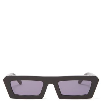 Shipwrecks rectangular-frame acetate sunglasses | Karen Walker Eyewear | MATCHESFASHION.COM US