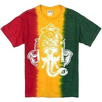 Yoga Clothing for You Mens Big Ganesha Head Shirt