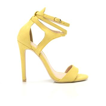 Wrapped Around My Finger Heel - Yellow
