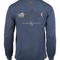 Men's Tarpon X-Ray L/S UV Fishing T-Shirt