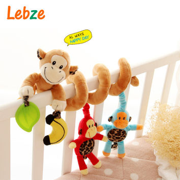 Educational Baby Toy Mobile Baby Cot Bed Hanging Bell Newborn Infant Stroller Crib Rattles Mobile Toys for Kids
