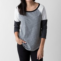 BKE Core Color Block Top