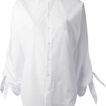 Ralph Lauren Black tie sleeved shirt