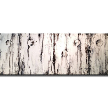 Original Large Braille painting - 20 X 64 Inches-by Artist JMJartstudio- LOVE -Wall art- Custom-Featured on the TODAY Show