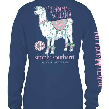 "Simply Southern ""Save the Drama"" Long Sleeve Tee"