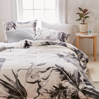 Expressive Palms Duvet Cover | Urban Outfitters