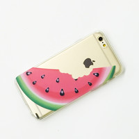 Clear Plastic Case Cover for iPhone 6 (4.7