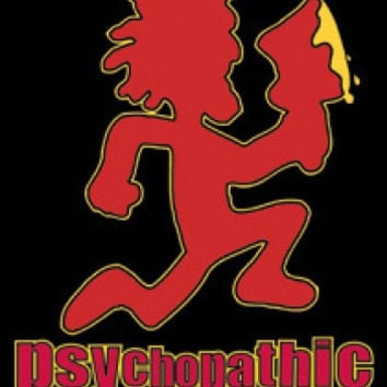 Psychopathic Records Vinyl Sticker Hatchet Man