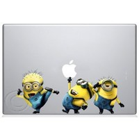 Amazon.com: Despicable Me Minions Apple Macbook Decal skin sticker: Everything Else