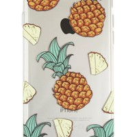 Gina Alexander iPhone 6 Transparent Case (Happy Pineapples)