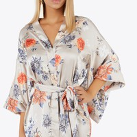 Bloom Bloom Kimono Dress