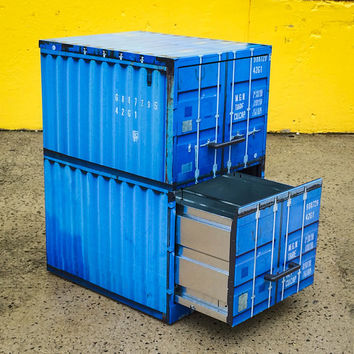 Shipping Container File Cabinet