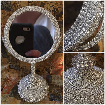 Vanity Mirror / Bathroom Mirror / Makeup Mirror / Mirror / Bling Mirror / Bathroom Mirror / Counter Mirror / Table Mirror