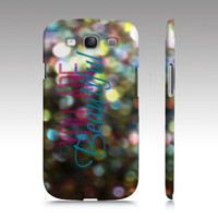 You Are Beautiful - Beautiful Brilliant Bokeh Cell Phone Case Cover iPhone 3 4 5, iPod 4th & 5th Gen, Samsung Galaxy S3