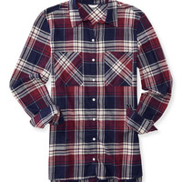 Aeropostale  Long Sleeve Oversized Woven Shirt