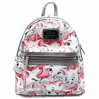 Loungefly X Disney The Aristocats Marie AOP Mini Backpack