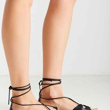Zoe Modern Leather Gladiator Sandal
