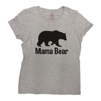 Mama T Shirt Mama Bear T-Shirt Mothers Day Gift Mama Shirt Best Mama Ever Mom TShirt Mommy Gift For Mom Best Mom Funny Ladies Tee - SA385