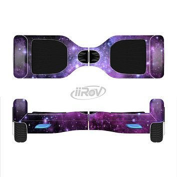The Purple Space Neon Explosion Full-Body Skin Set for the Smart Drifting SuperCharged iiRov HoverBoard