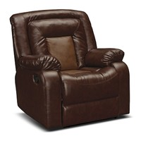Cobra Leather 3 Pc. Reclining Living Room