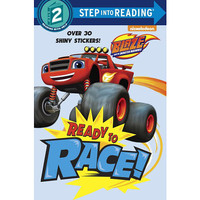 Ready to Race! (Blaze and the Monster Machines) (Step into Reading