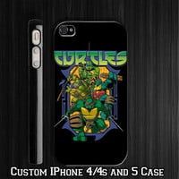 Teenage Mutant Ninja Turtles Custom iPhone 4 4S case, iPhone 5 Case, Samsung Galaxy S2 case, Samsung Galaxy S3 case