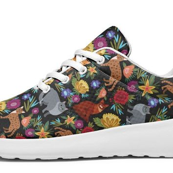 Cat Flower Sneakers
