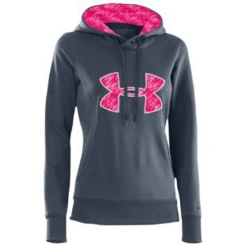Under Armour PIP Storm Armour Fleece Big Logo Hoodie - Women's at Lady Foot Locker