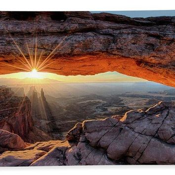 Mesa Arch Sunburst - Beach Towel
