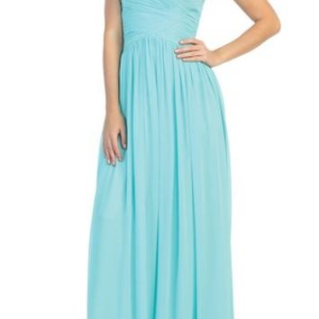 Special Order Formal--Strapless, Long Prom (4 Colors)