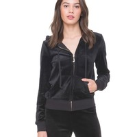 Ultra Luxe Velour Robertson Jacket