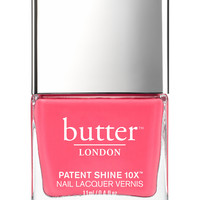 butter LONDON Patent Shine 10X Nail Lacquer - Flusher Blusher