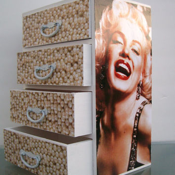 Jewelry Box Marilyn Monroe by StrictlyCute on Etsy