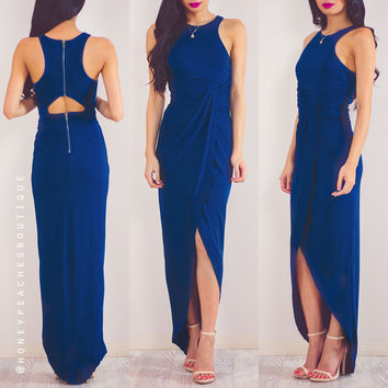 Back In Stock: Pursuit Of Happiness Dress - Blue