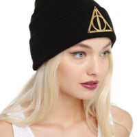 Harry Potter Deathly Hallows Beanie