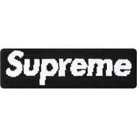Black Supreme X New Era Headband