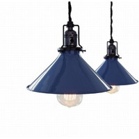 RH loft industrial warehouse edison pendant lamp light