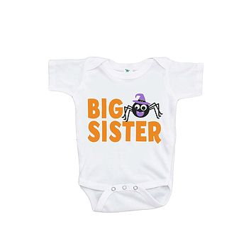 Custom Party Shop Baby's Big Sister Halloween Onepiece