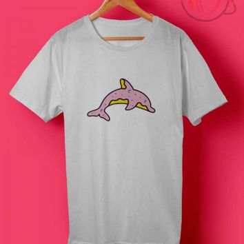 Trend Fashion Odd Future White Dolphin Donut T Shirts